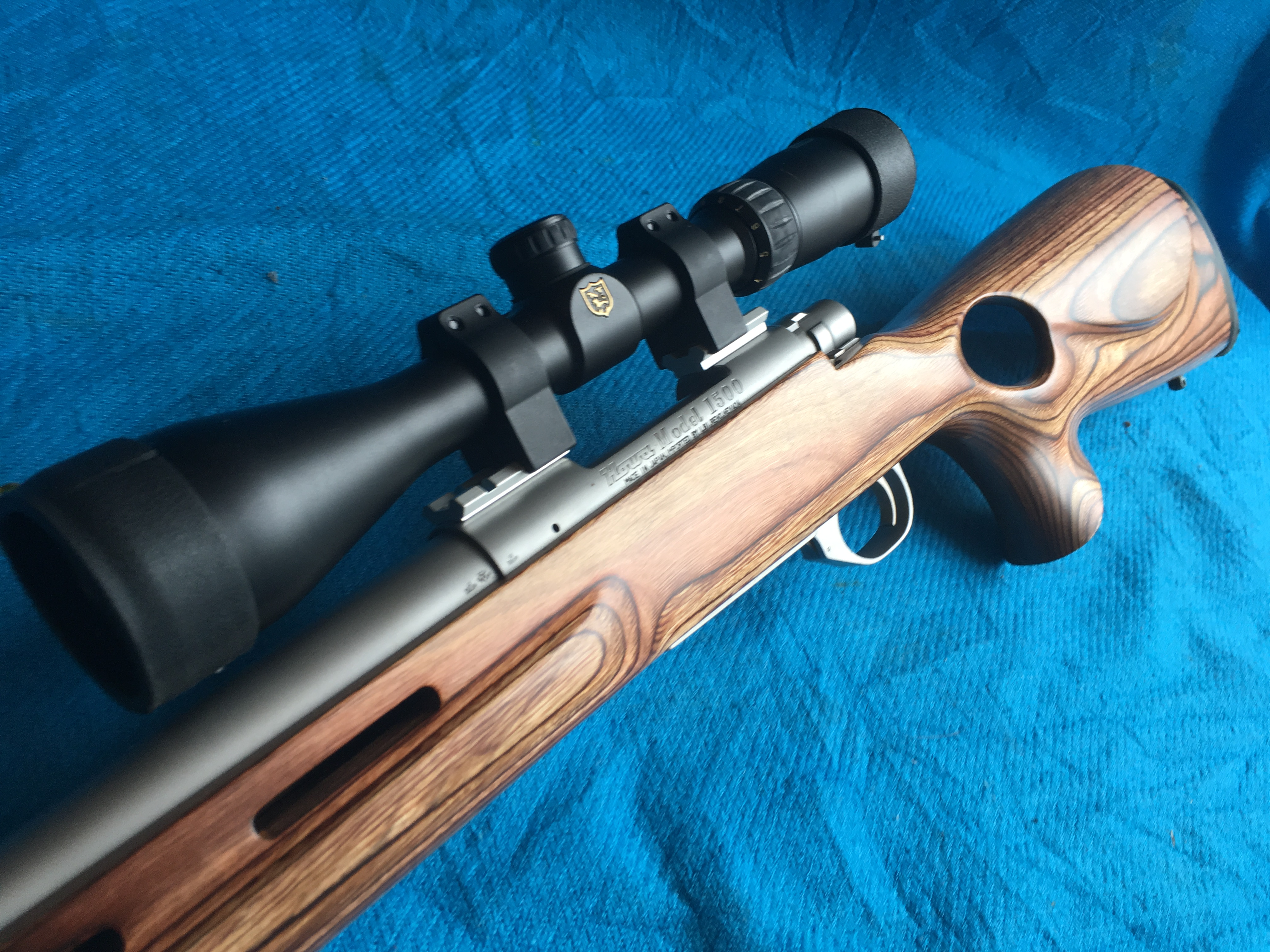 Howa 1500 Thumbhole Laminate  308 Stainless – Edinburgh Rifles